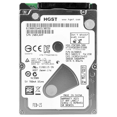 HD 500GB HITACHI 5400 SATA NOTEBOOK