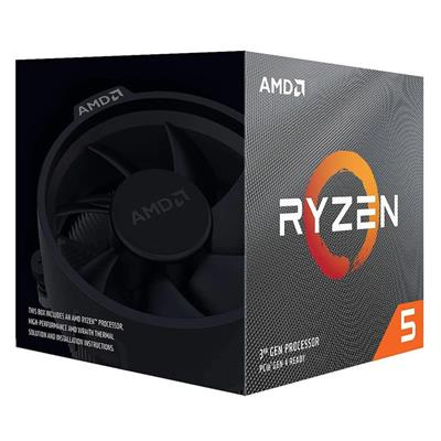 MICROPROCESADOR CPU AMD RYZEN 5 3600XT 3.6GHZ AM4 6C S/VGA