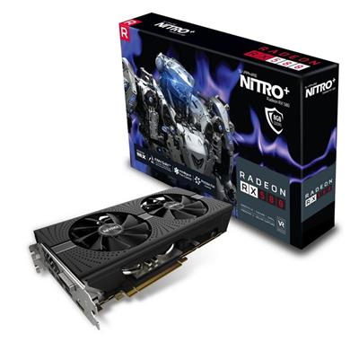PLACA DE VIDEO PCI-E 8GB RX580 NITRO DDR5 SAPHIRE