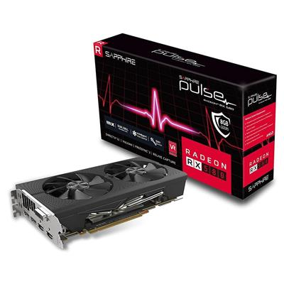 PLACA DE VIDEO VGA PCI-E 8GB RX580 DDR5 SAPHIRE
