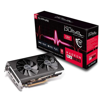 PLACA DE VIDEO VGA PCI-E 8GB RX580 DDR5 PULSE SAPHIRE