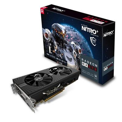 PLACA DE VIDEO PCI-E 8GB RX570 NITRO DDR5 SAPHIRE