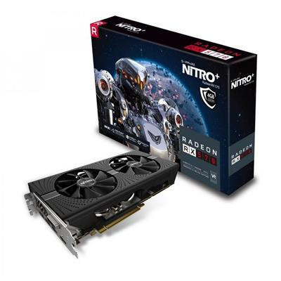 PLACA VIDEO VGA PCI-E 4GB RX570 NITRO DDR5 SAPHIRE