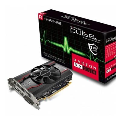 PLACA DE VIDEO VGA PCI-E 4GB RX550 DDR5 RADEON SAPHIRE
