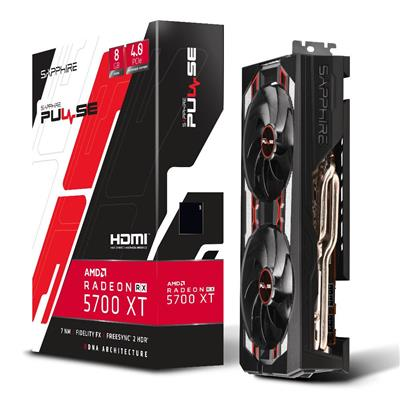PLACA DE VIDEO VGA PCI-E 8GB RX5700XT DDR6 PULSE RADEON SAPHIRE