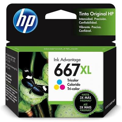 CARTUCHO HP 667XL TRICOLOR 3YM81AL