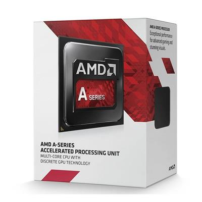 CPU AMD APU A4-6300 3.7GHZ 1MB FM2
