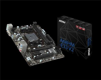 MOTHER MSI A68HM-E33 AMD FM2+ V2