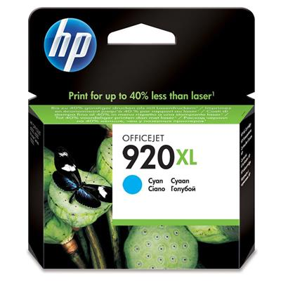 CARTUCHO HP 920XL CYAN CD972AL