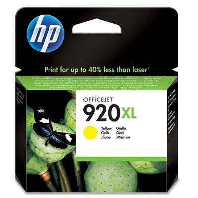 CARTUCHO HP 920XL YELLOW CD974AL