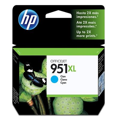 CARTUCHO HP 951XL CYAN CN046AL