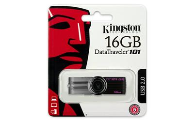 MEM USB 16GB KINGSTON BLACK