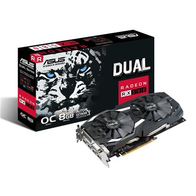 PLACA VIDEO VGA PCI-E 8GB RX 580 DUAL  RADEON ASUS