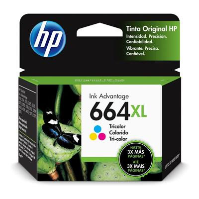 CARTUCHO HP 664XL TRICOLOR F6V30AL
