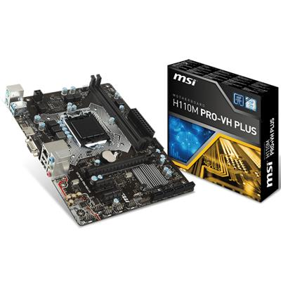 MOTHER MSI H110M-PRO-VH-PLUS S1151