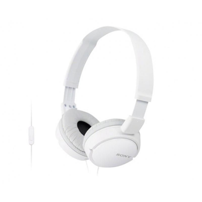 AURICULAR SONY CON MICROFONO MDR-ZX110AP WHITE