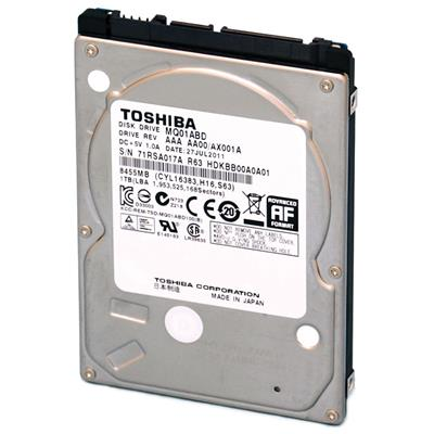 DISCO RIGIDO 320GB TOSHIBA 5400 SATA NOTEBOOK