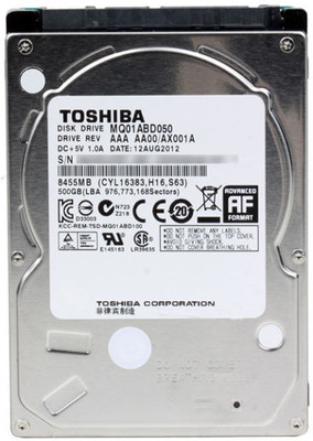 HD 500GB TOSHIBA 5400 SATA NOTEBOOK
