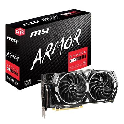 PLACA DE VIDEO VGA PCI-E 8GB RX570 R570AR8C MSI ARMOR