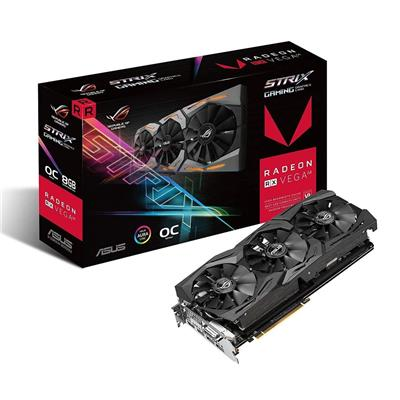 PLACA VIDEO VGA PCI-E 8GB RX VEGA 64 ASUS