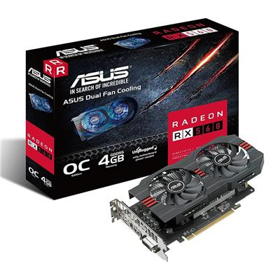 PLACA VIDEO VGA PCI-E 2GB RX 560 OC ASUS