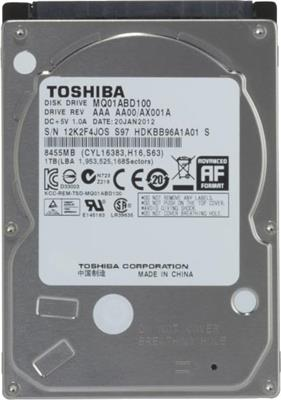 HD 1TB TOSHIBA 5400 SATA NOTEBOOK