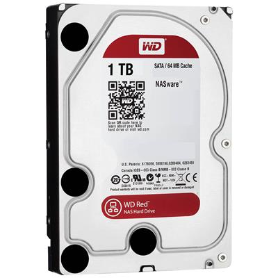 DISCO RIGIDO 1TB W.DIGITAL RED 5400 64MB NAS