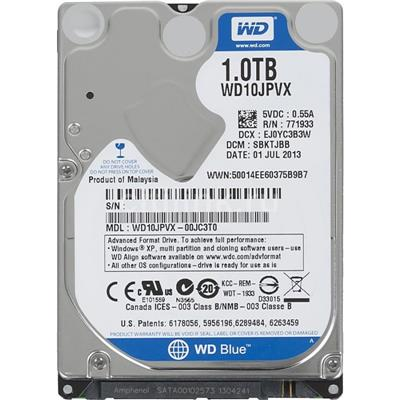 HD 1TB W.DIGITAL 5400 SATA NOTEBOOK