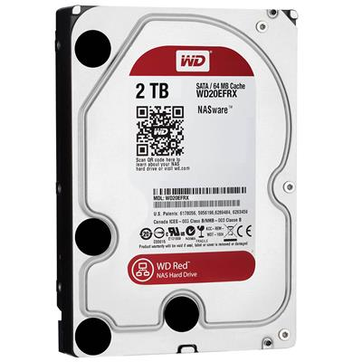 DISCO RIGIDO 2TB W.DIGITAL RED 5400 64MB NAS