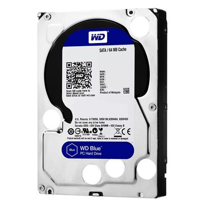 HD 2TB W.DIGITAL BLUE SATA3 5400 64MB