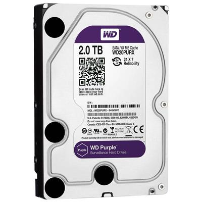 DISCO RIGIDO 2TB W.DIGITAL PURPLE SATA3 64MB