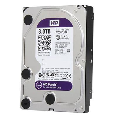 DISCO RIGIDO 3TB W.DIGITAL PURPLE SATA3 64MB