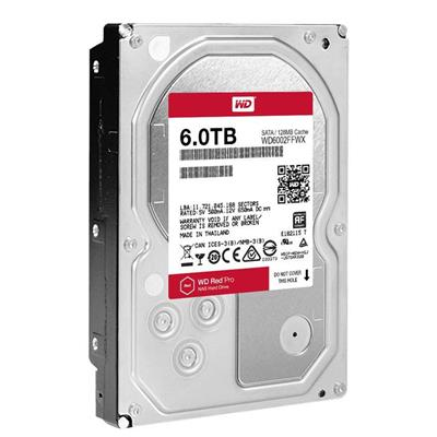 DISCO RIGIDO 6TB W.DIGITAL RED PRO 7200 64MB NAS