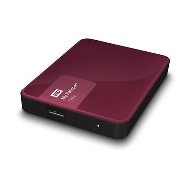 HD 2TB W.DIGITAL MY PASSPORT RED USB 3.0