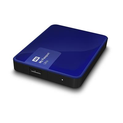 HD 2TB W.DIGITAL MY PASSPORT BLUE USB 3.0