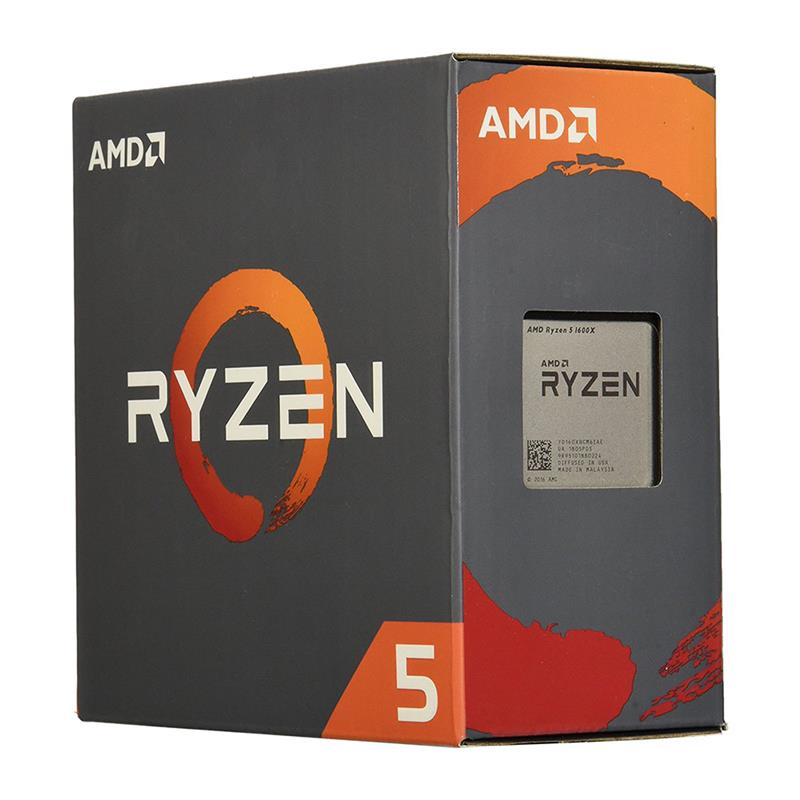 CPU AMD RYZEN 5 1600X 3.6GHZ AM4 6C S/COOL