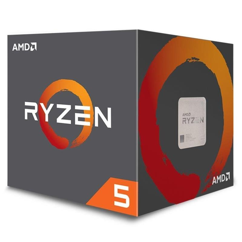 CPU AMD RYZEN 5 2600X 3.6GHZ AM4 6C S/VGA