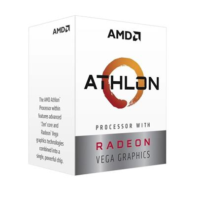 PROCESADOR CPU ATHLON 3000G 3.5GHZ AM4 2C VEGA
