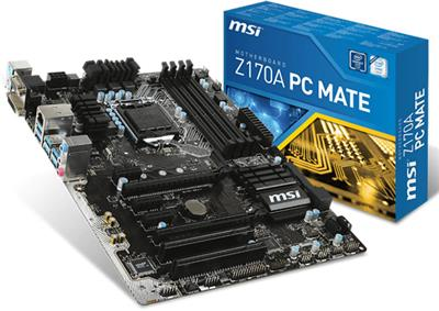 MOT MSI Z170A PC MATE S1151